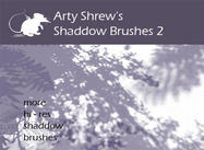 Arty Shrew's Shadows Brushes 2