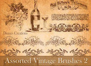 Brosses Vintage Assorties 2