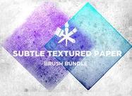 Textures de papier subtiles