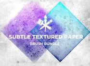 Sutiles texturas de papel
