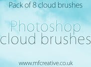 Pinceaux de photoshop cloud