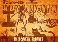 Halloween-Bürsten