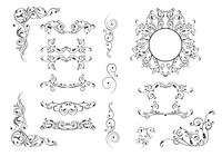 15 Flourish Ornaments Brush Pack