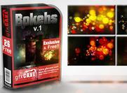 Texturas digitais gratuitas de bokeh