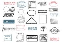 Postmarks Brush Pack