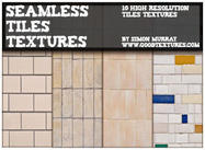 10 Seamless Ceramic Tiles Textures