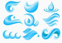 Water and Waves Icons Brush Pack