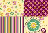 Floral Photoshop Wallpaper, Pattern und Brush Pack