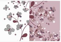 Pack de papier peint Nature Flower Photoshop