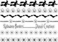 Halloween Border Pinsel