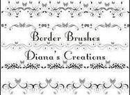 Elegant Border Brushes