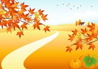 Autumn Landscape Photoshop Background