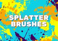 16 Splatter Brushes