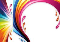 Color Splash Photoshop Header und Wallpaper Pack