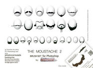 The Mustache brushset 2