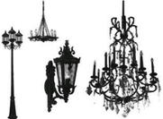Lamps and Chandelier Brushes