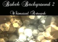 Bokeh Background Gold