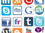 Social Networking Logos Shapes