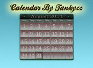 Calendário PSD By Tankyzz
