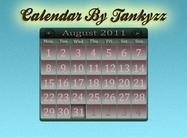 Calendar PSD By Tankyzz