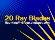 20 Ray Blades