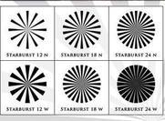 Starburst Brushes (6 Hign Resolution Brushes)