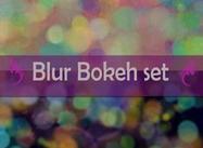 Blur bokeh texturförpackning