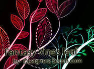 Fantasy Vines hoja de Photoshop cepillos