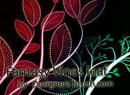 Fantasy Vines blad Photoshop borstels
