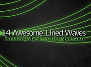 14 Lined Waves