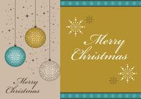 Merry Christmas Photoshop Wallpapers och Border Brush Pack