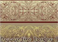 Borda decorativa-I
