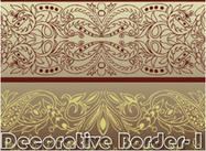 Borde Decorativo I