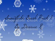Schneeflocke Brush Pack 1