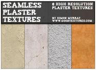 8 texturas de gesso sem costura