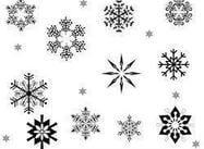 Snow Flake Brushes