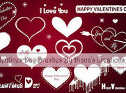 Valentines Day Brushes