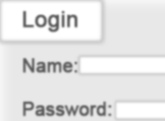 Simple Login - Log in PSD
