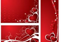 Holiday Hearts Photoshop Wallpapers