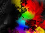 Textura de cor