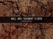 Muren en Pavement Grunge