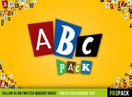 DBD | AbcPack PSD: s - Magazine Lettering