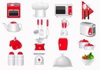 Cooking Icon PSD and PNG Pack