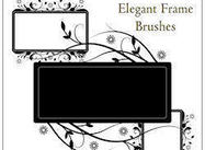 Elegant Frame Brushes