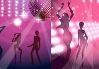 Disco Wallpaper and Photoshop Background Pack