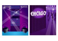 Chicago disco photoshop tapetenpackung