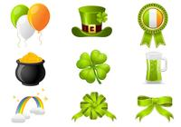 St. Patricks Day Icon PSD Pack