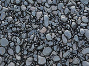 Rock Texture With Black Pebbles