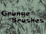 Splatter Pinsel und Grunge Brush Pack