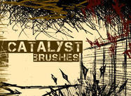 Grunge brush set katalysator scrag